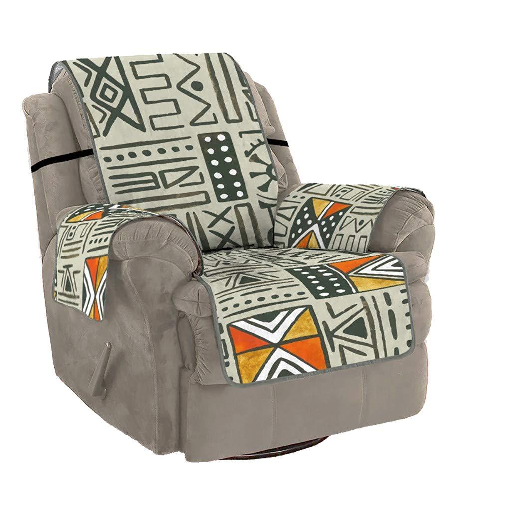 Easong - Funda de cojín para sofá con diseño geométrico ...