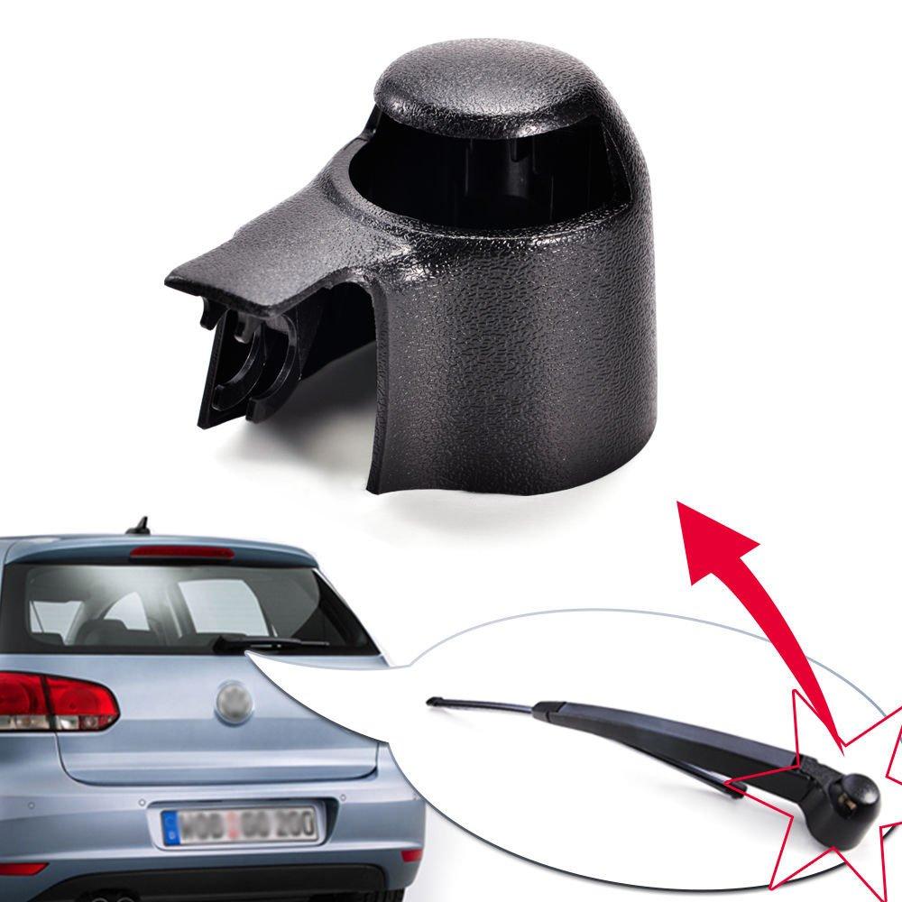 perfectech tapa de limpiaparabrisas trasero negro para VW MK5 Golf Polo Passat, Caddy, Tiguan, Touran: Amazon.es: Coche y moto