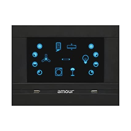 Amour Home Automation 3 0 (Black, 7 Circuits)