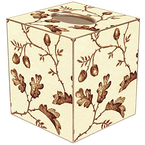 Marye-Kelley TB1269 - Brown Acorns Tissue Box Cover