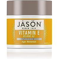 Jason Moisturizing Crème, Vitamin E 25,000 Age Renewal, 4 Oz