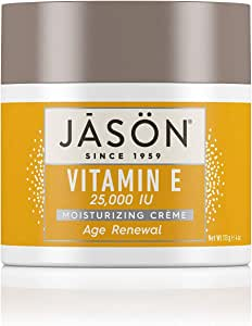 Jason Crema Facial, Vitamina E 25000 UI, 113 gr: Amazon.es: Belleza