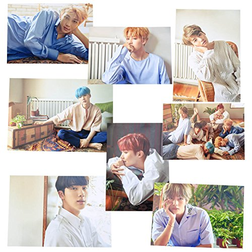 AhlsenL Kpop Bangtan Boys BTS Love Yourself [Her] Poster 8 Sheets (L-Ver.)