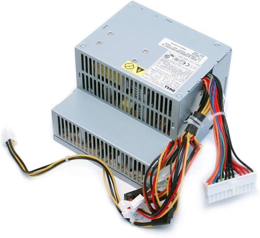 Dell - MH596 / MH595 / RT490 / NH429 / P9550 / U9087 / X9072 / NC912 / JK930 - Optiplex GX520 / GX620 / 740/745 / 755 / 210L / 320/330 / Dimension C521 / 3100C 280W Power Supply (Renewed)