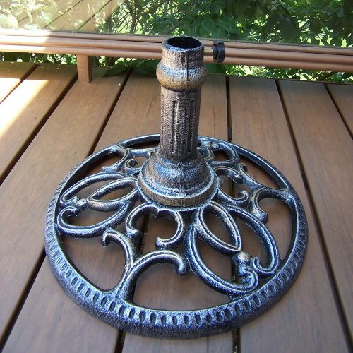 Oakland Living Round Umbrella Stand, Antique ()