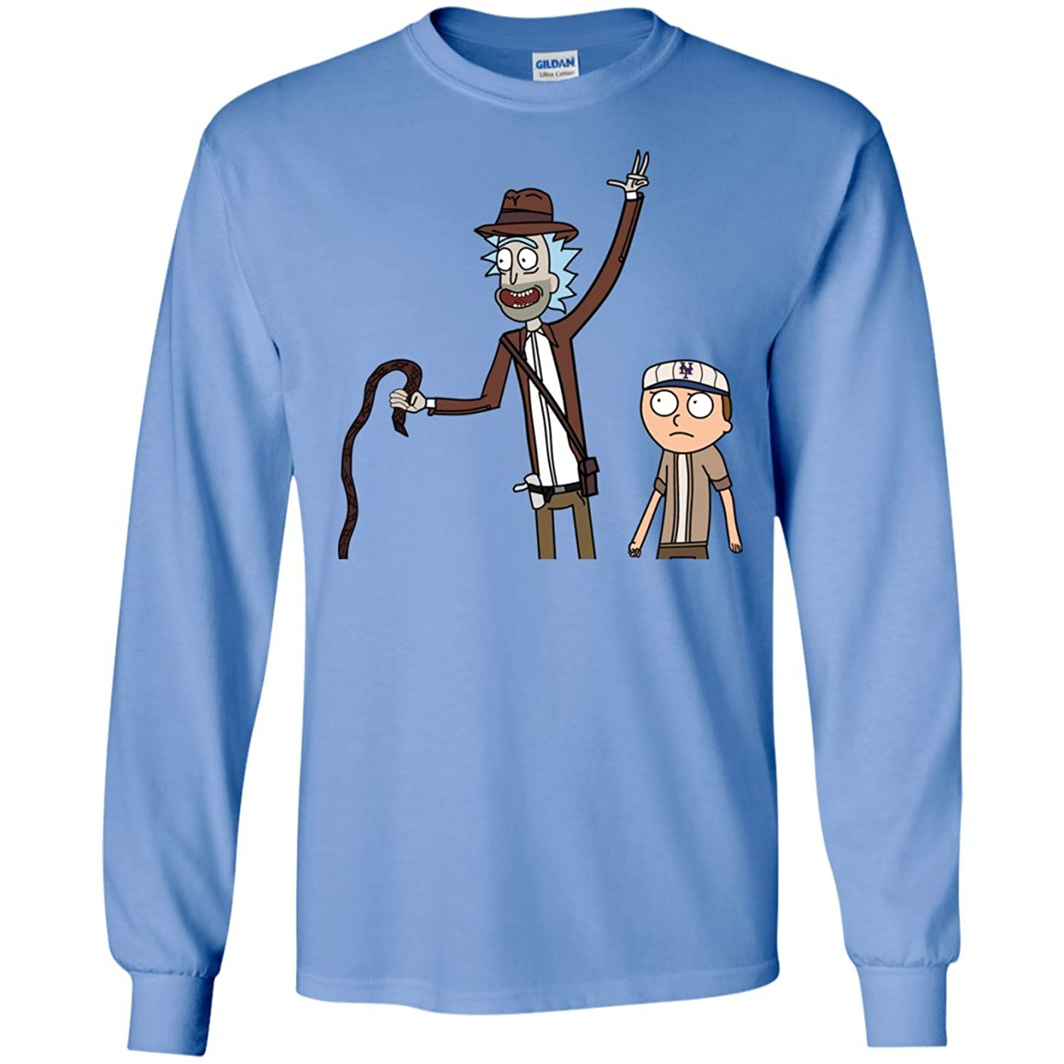 Rick and Morty Adventures Long Sleeves Tshirt
