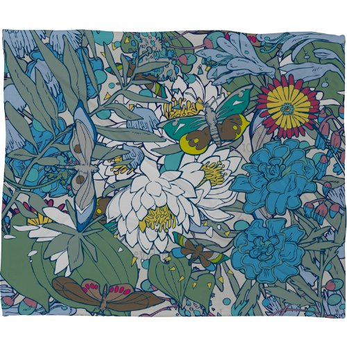 DENY Designs Geronimo Butterflies Blanket