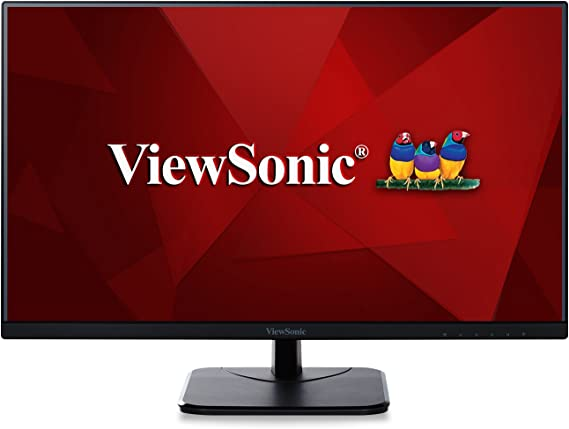 ViewSonic VA2256-MHD 22 Inch Frameless IPS 1080p Monitor with HDMI DisplayPort and VGA Inputs for Home and Office
