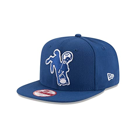 Image Unavailable. Image not available for. Color  Indianapolis Colts Retro  Logo Snapback Hat ... b0d1deecf