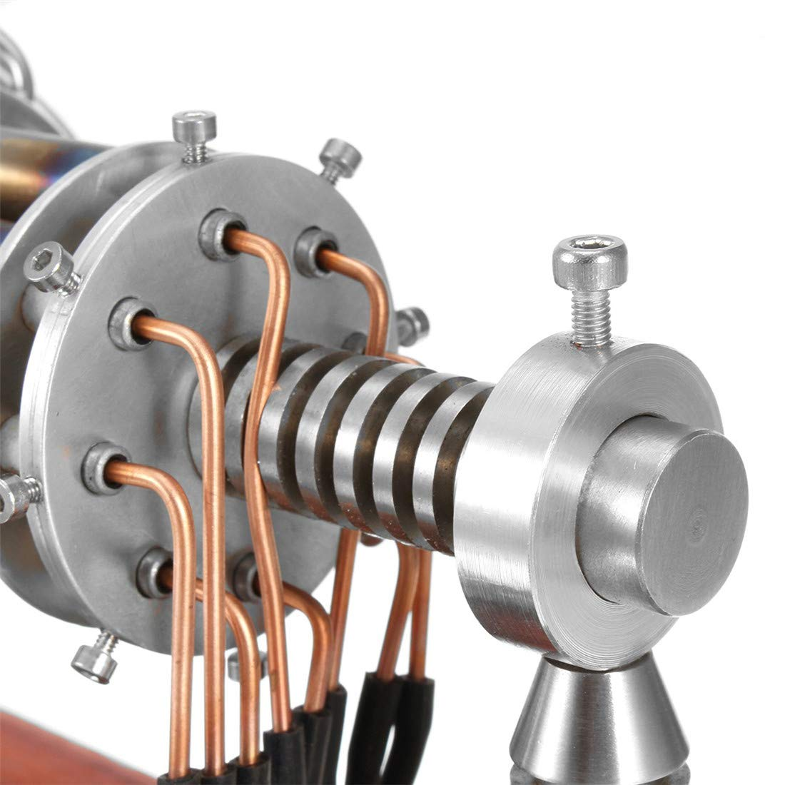 Niedertemperatur Niedertemperatur Niedertemperatur Stirlingmotor HeißLuft Stirling Engine Model Pädagogisches Spielzeug Kinder Und Technikbegeisterte a3f79a
