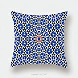 Custom Satin Pillowcase Protector Morocco Seamless Pattern Traditional Arabic Islamic Background Mosque Decoration Element 574652686 Pillow Case Covers Decorative