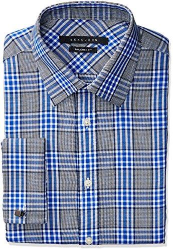 sean-john-mens-regular-fit-plaid-spread-collar-dress-shirt-royal-blue-175-neck-36-37-sleeve