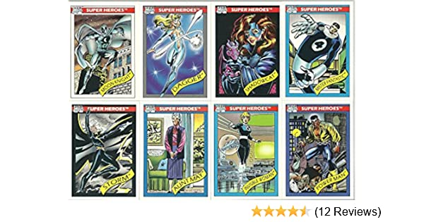 Marvel Universe Series 1 Complete 162 Card Set (1990)