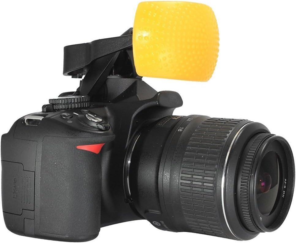 Universal 3 Color Diffuser Filter Set for Pop-Up DSLR Camera Flashes