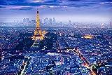 View Over Paris Poster 36x24