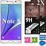 Cell Phone DIY Samsung Galaxy Note 5 Ballistic Glass Screen Protector, Premium Tempered Glass with 99.99% HD Clarity and 3D Touch Accuracy [2-Pack]