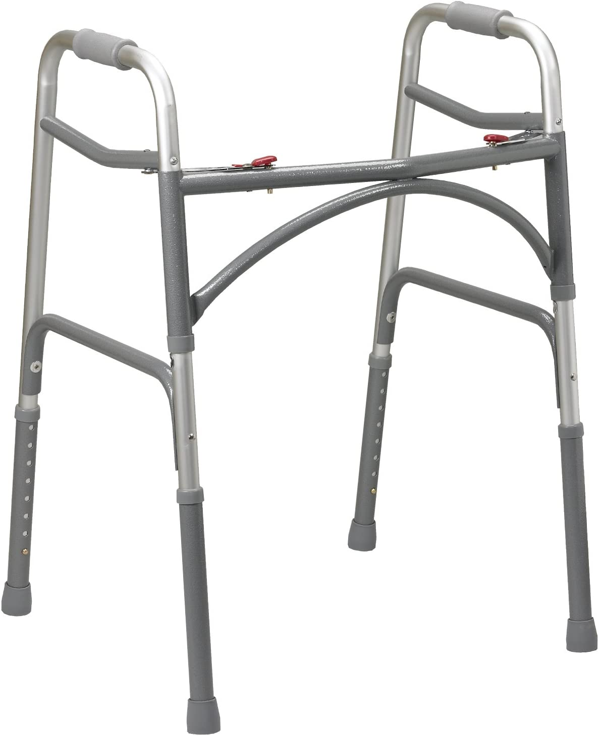 Drive Medical Heavy Duty Bariatric Walker, Gray, Adult: Health & Personal Care