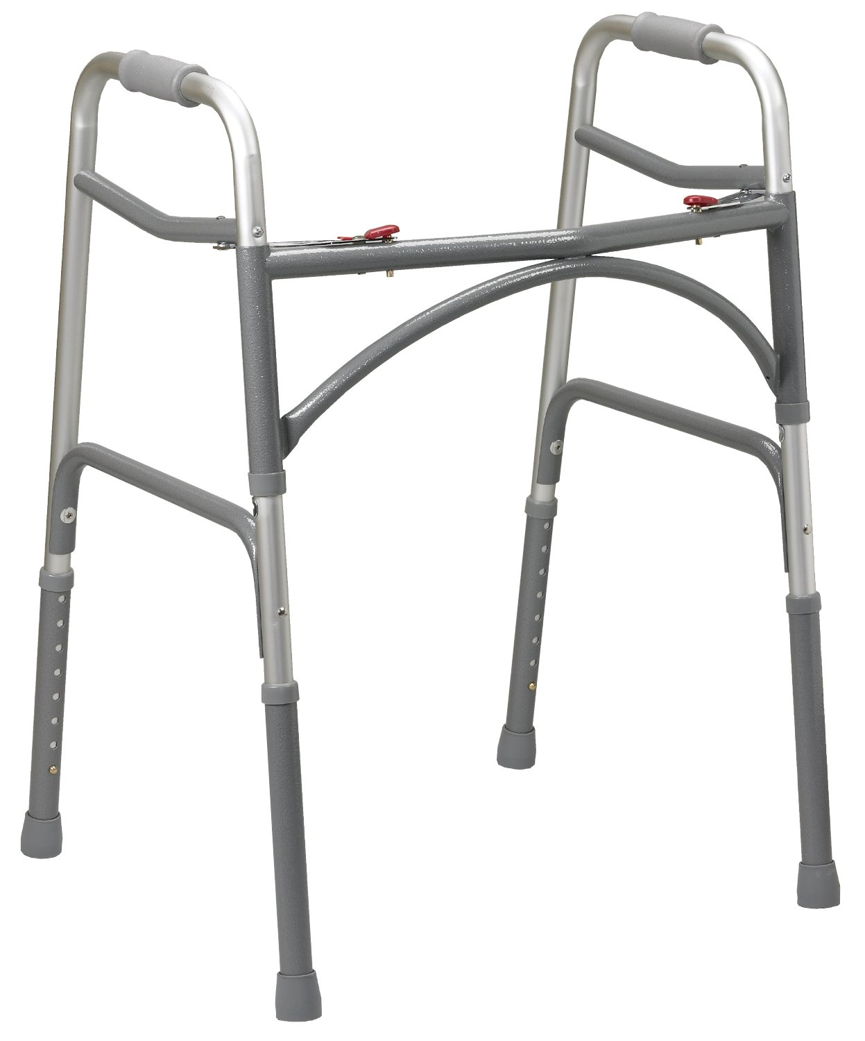 Drive Medical Heavy Duty Bariatric Walker, Gray, Adult by Drive Medical