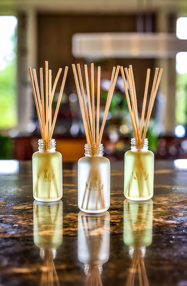 Malie Island Ambiance Reed Diffuser - Travel - Plumeria by Malie (Image #2)