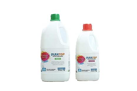 Duratop Countertop Liquid Glass Epoxy Resin 1kg Hardener 1 2 Kg Amazon In Industrial Scientific