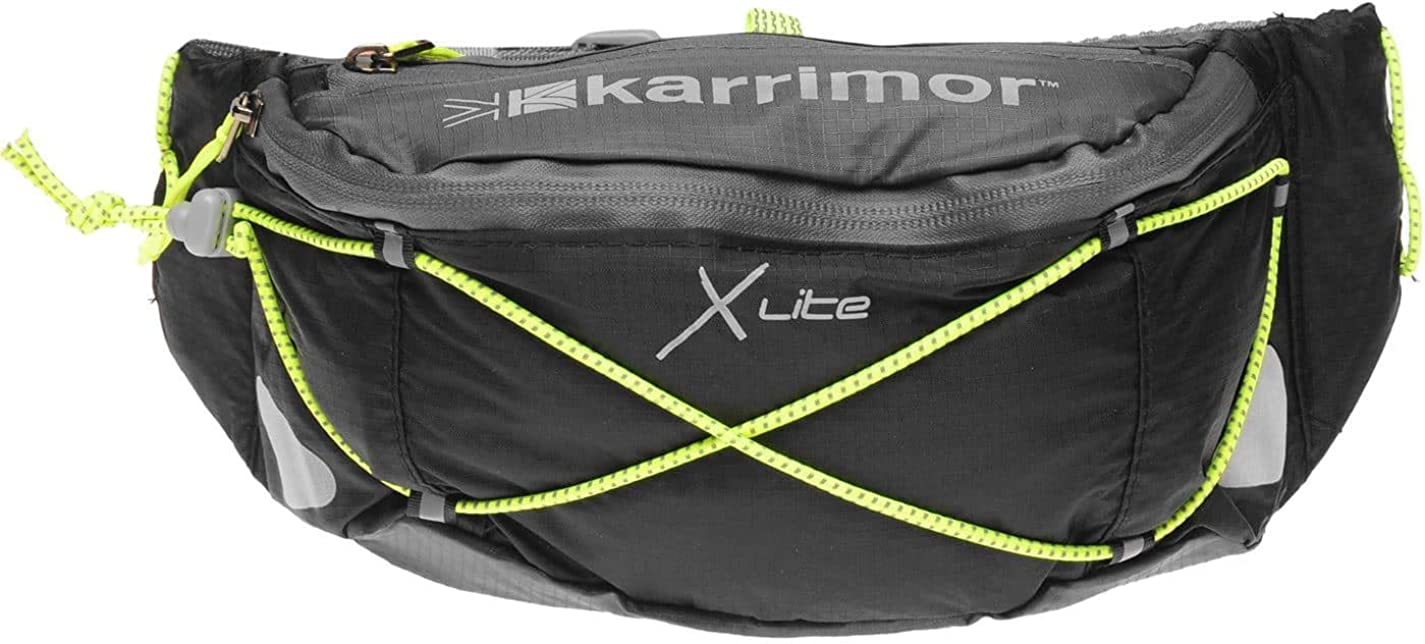 KARRIMOR X-LITE PHONE ARMBAND RUNNING FITNESS GYM BLACK OR PINK REFLECTIVE NEW