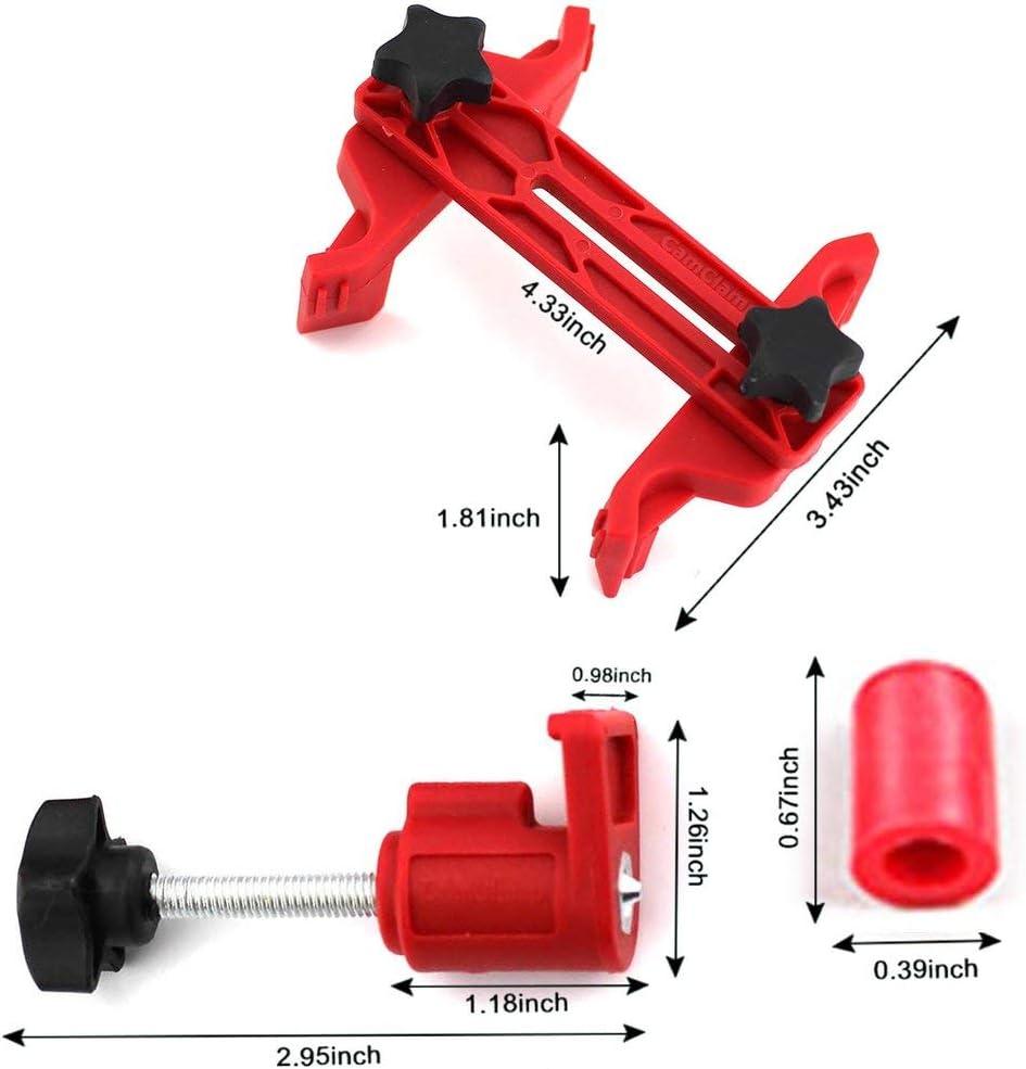 Deniseonuk Universal-Nockenwellenverriegelungshalter Auto-Motor-Timing-Verriegelungswerkzeug Doppel- Einzel-Nockenwellenhalter Zahnriemen-Fixierwechsler