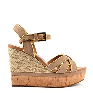 Chaussures Sandales Chamoisor DaimFemme 39 Ash En Havana Bis uJ3TKc51lF