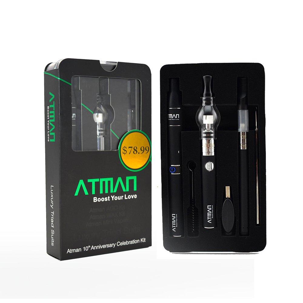 ATMAN® Lujo electronico vaporizador para Hierbas Secas y Cera y CBD Aceite No Nicotina: Amazon.es: Salud y cuidado personal