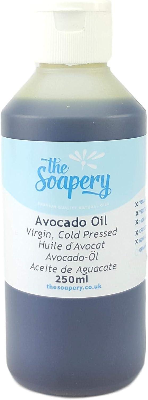 Aceite de aguacate virgen, prensado en frío 100% puro (250ml)