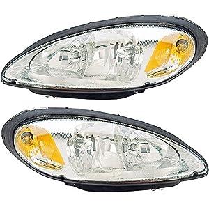 prime choice auto parts kapcr10082a1pr headlight pair automotive. Black Bedroom Furniture Sets. Home Design Ideas
