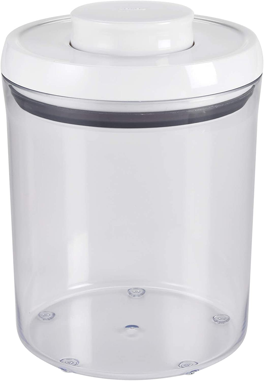 OXO Good Grips POP Bote de Cocina Hermético Redondo - 1,8 L - 14.4 x 14.4 x 18 cm