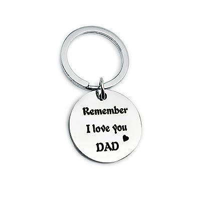 Aooaz llaveros Amigas Redondo Remember i Love You mom Dad ...