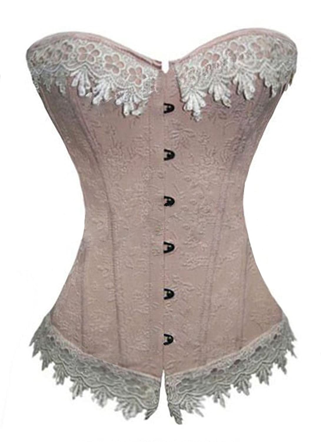 Vintage Inspired Wedding Dress | Vintage Style Wedding Dresses Luvsecretlingerie Moulin Rouge Victorian Overbust Fashion Corset Bustier $15.99 AT vintagedancer.com