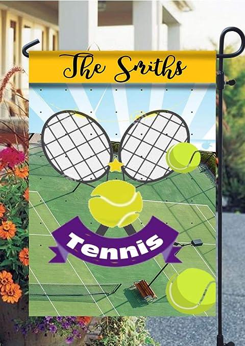 Amazon.com : Tow Yus Dala Polyester Garden Flag for House Decor-Sports Tennis : Garden & Outdoor