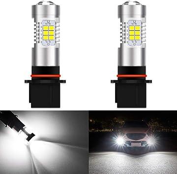 2x Super White 881 High Power 80W  LED  Fog Driving Light DRL Bulbs