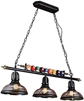 WJGJ Luz De Billar,Lámpara De Billar,Colgantes Mesa De Billar Light Fixture Billar Luces For