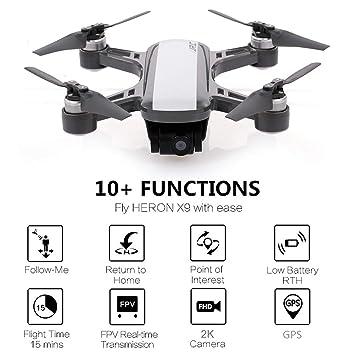 WOSOSYEYO JJR / C X9 Dream RC Drone GPS Flujo óptico ...