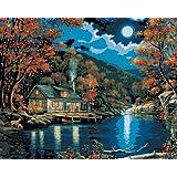 Peinture Par Numéro Kit 16 « X 20 »-Lakeside Cabine
