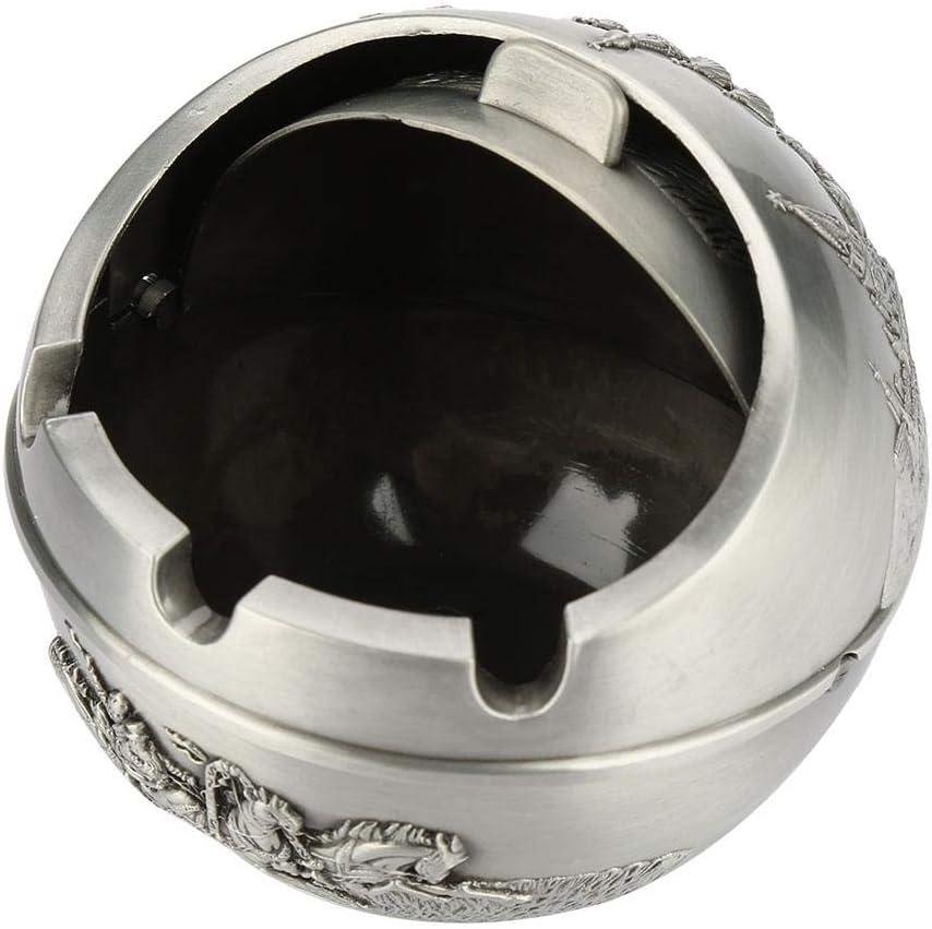 Akozon Posacenere Collectibles Portacenere Portatile Round Ball Home Hotel Regalo di Nozze Collezionabili # 03