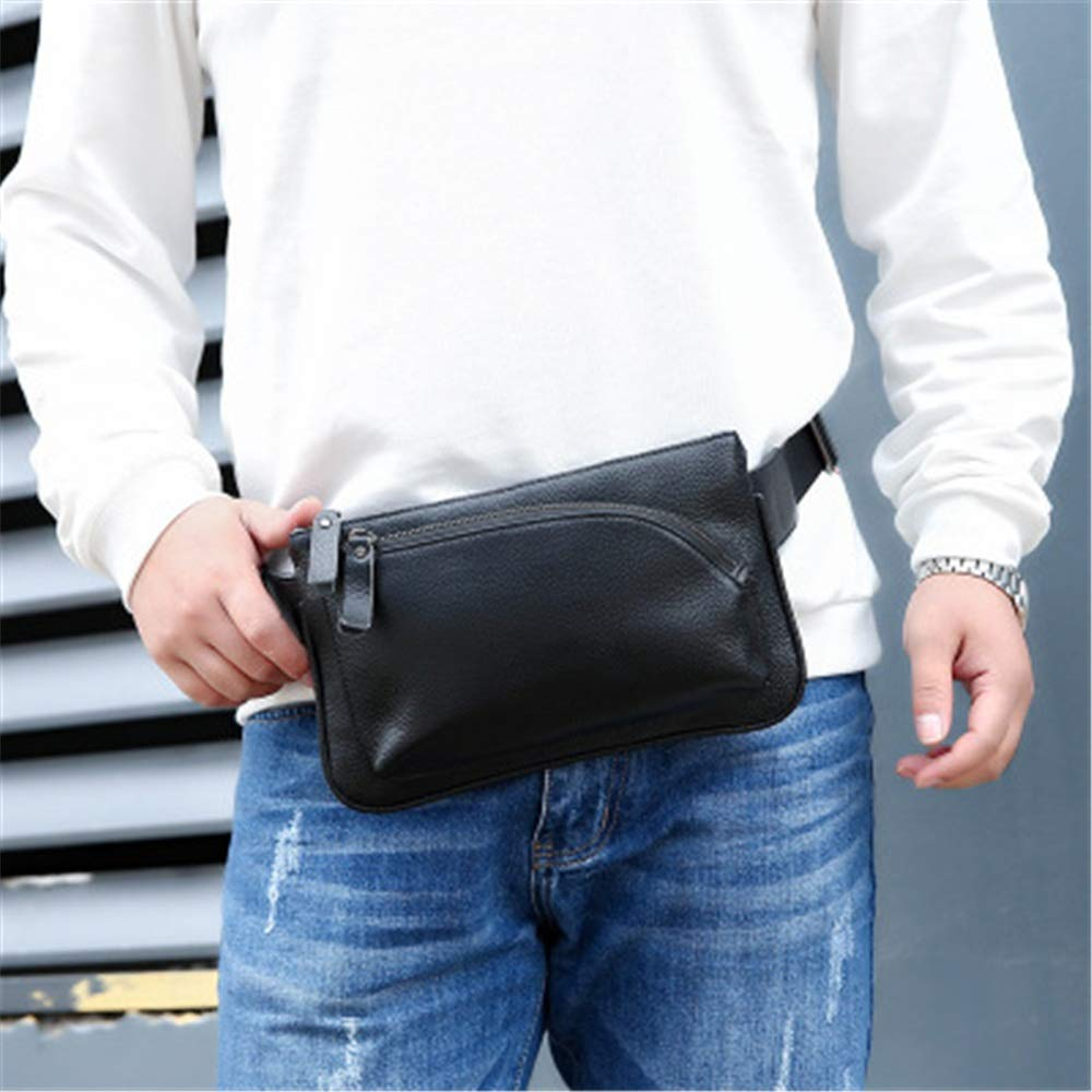 Yzibei Belt Holster Bag Leather Waist Pack Crossbody Bag for Men Boy
