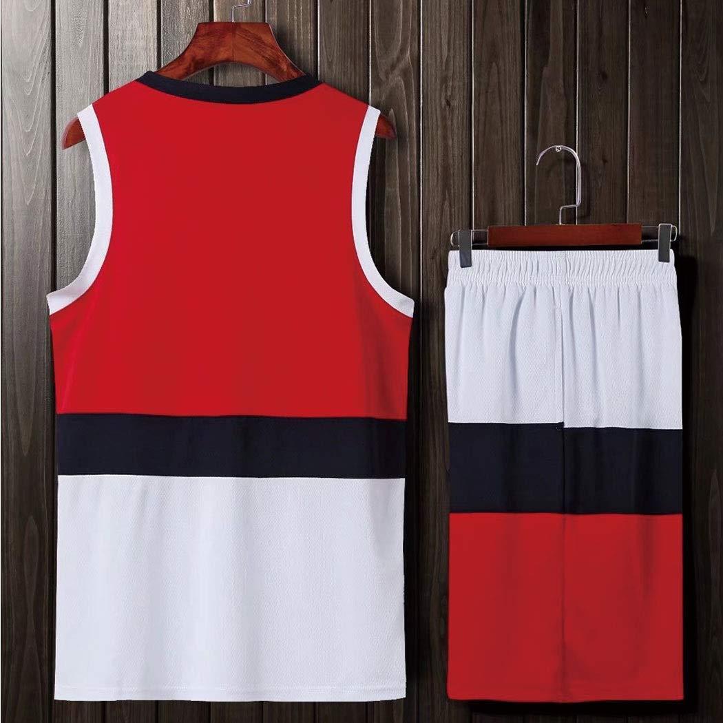 Amazon.com: Color a juego de la ropa de baloncesto traje ...