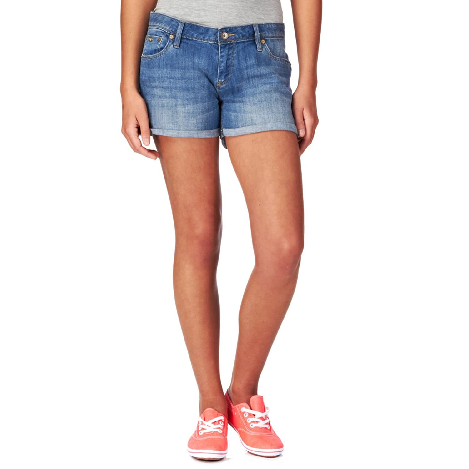 Damen Shorts Roxy Loopy Medium Light Blue Shorts