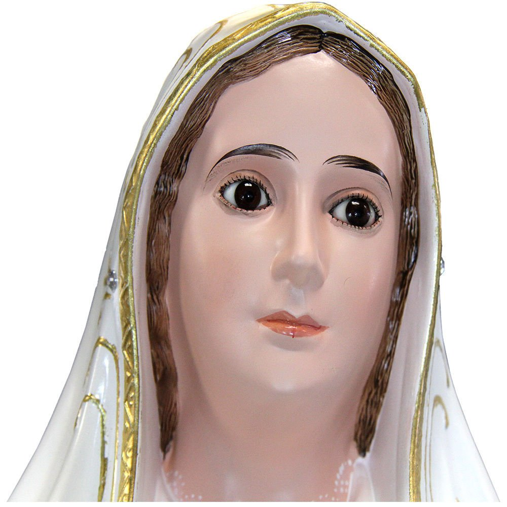 44 Inch Our Lady Of Fatima Statue Religious Figurine Virgin Mary 1038