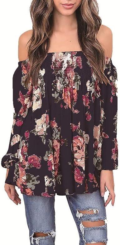 Camisa De Ocio para Mujer, Blusa URIBAKY Primavera OtoñO ...