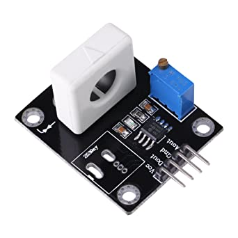 Amazon.com: Salón Sensor de corriente de wcs1800, 35 A ...