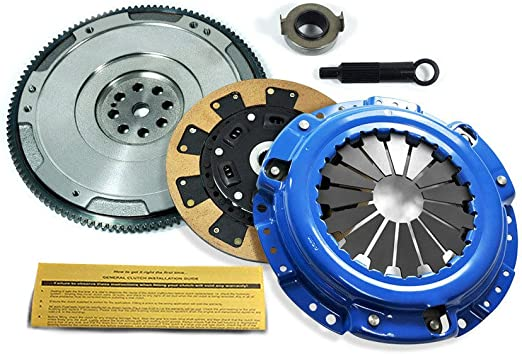 EFT KEVLAR CLUTCH KIT and HD FLYWHEEL for HONDA F22 F23 H22 H23 MOTOR