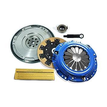 EFT Kevlar Kit de embrague y HD volante para Honda F22 F23 H22 H23 Motor: Amazon.es: Coche y moto