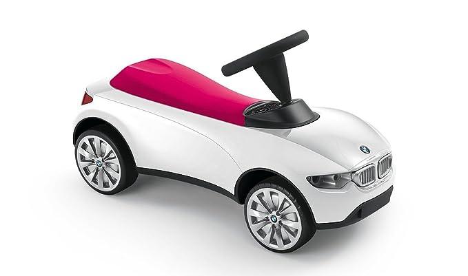 BMW Baby Racer III Weiß Himbeerrot - Baby Racer BMW