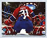 Autograph Authentic PRIC10503C Carey Price Montreal Canadiens Signed Bell Centre Net Cam 16 x 20 in. Photo Number - 131