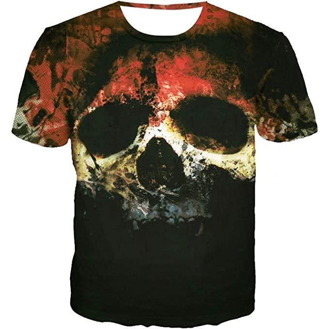 Camiseta para Hombre, Camisa de Manga Corta de la Camiseta de la Manga de la